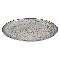 £28 Gorgeous oval serving plate from Broste Copenhagen's 'Nordic Sea' tableware collection. Size w26.5 x 35.5cm