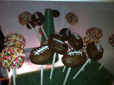 Superbowl Cake Pops