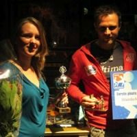 Winnaars Dutch Pinball Open 2012 Jasmijn en Jasper
