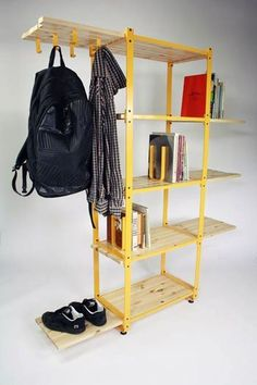 Adapt Sliding Slat Adjustable Shelves by Max Frommeld