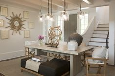 Dining Room by Suzanne Kasler - 2014 Southern Living Idea House, Palmetto Bluff