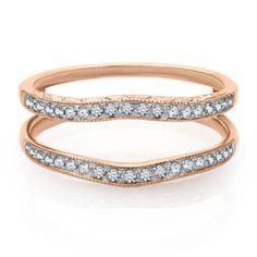 1/4 ct. tw. Diamond Ring Enhancer in 14K Gold