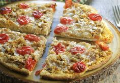 Thai Tuna & Tomato Pizza
