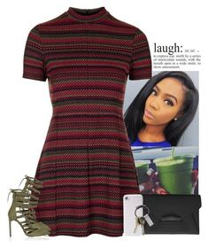 """laugh."" by tonaysia ❤ liked on Polyvore featuring Topshop, River Island, Givenchy, PhunkeeTree and CB2"