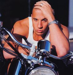 Vin Diesel. I really think this man is hot