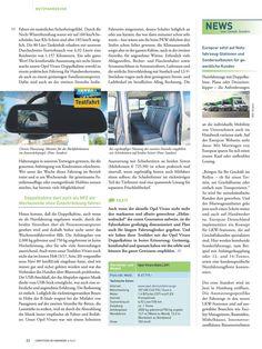 Seite 2: Opel Vivaro Testfahrt-Bericht in Computern im Handwerk 4-5/2017 mit cleverer Bildschirmlösung für Rückfahrkamera !