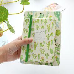 Aliexpress.com: Comprar Corea Del sur papelería cactus creativo 32 k THICKED diario 64 k breve encantadora estudiantes cuaderno bloc de notas de note book fiable proveedores en MIRUI
