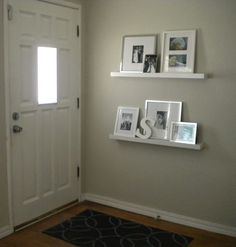 small entryway ideas | Our entryway looked like this only a few short days ago.