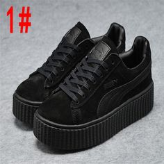 I found some amazing stuff, open it to learn more! Don't wait:http://m.dhgate.com/product/2017-puma-rihanna-x-suede-creeper-camo-women/394364785.html
