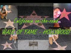 California on-the-road: Walk of Fame