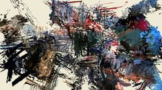 """Revving Motors, Spinning Wheels (Action Painting). The final video painting in the Action Painting series.  This video was composed using """"c..."""