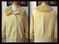 wool jacket with fur collar and cuffs - retro Burda 7255 http://juxtaposenz.blogspot.co.nz/