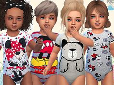 The Sims 4 Toddler Sleepwear 05 Toddler Cc Sims 4, Sims 4 Toddler Clothes, Sims 4 Cc Kids Clothing, Sims 4 Mods Clothes, Toddler Outfits, Los Sims 4 Mods, Sims 4 Cas Mods, Sims 4 Tsr, Sims Cc