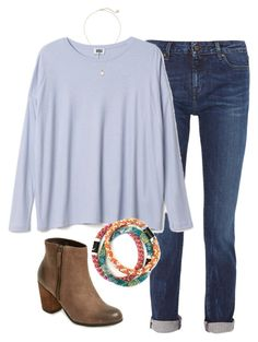 """""""OOTD"""" by prep-lover1 ❤ liked on Polyvore featuring Karl Lagerfeld, Kendra Scott and BP."""