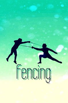 My phone wallpaper ^_^ #fencing #wallpaper #mint
