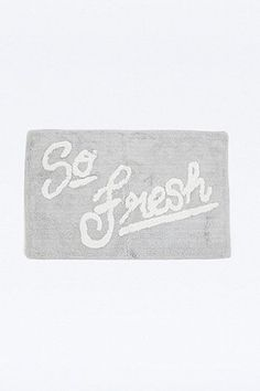 Shop So Fresh Bath Mat at Urban Outfitters today. We carry all the latest styles, colours and brands for you to choose from right here. Urban Outfitters Home, My Precious, Cool Items, Home Gifts, Home Accessories, Bathroom Accessories, Things To Buy, Bath Mat, Latest Fashion
