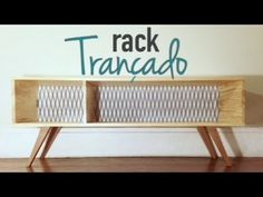 Rack Trançado ( móveis - faça você mesmo ) design DIY - YouTube