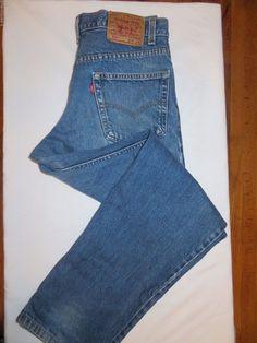 Levi's 550 Jeans Size 34 x 32  #683 (1980's-1990's) #Levis