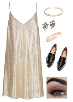 """""""look"""" by cah-starck on Polyvore featuring moda, New Look, Anne Klein, LE VIAN e Lana Jewelry"""