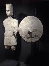 Sculptures of Mont'e Prama.  Cagliari, Archaeological Museum.