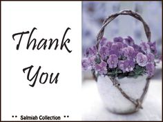 Salmiah Collection: Thank You Card 12