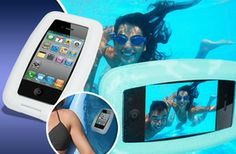 £8.99 (from Unusual Giftz) for an iPhone underwater aqua case!