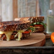 Persimmon Prosciutto and Brie Grilled Cheese   Joy the Baker