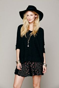 Casual/Boho 'Free People' Outfit