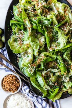 Simple Butter Lettuce Salad recipe made with buttery panko, chives and manchego. Simple Butter Lettuce Salad recipe made with buttery panko, chives and manchego. Lettuce Salad Recipes, Side Salad Recipes, Green Salad Recipes, Pasta Salad Recipes, Healthy Salad Recipes, Vegetarian Recipes, Dinner Recipes, Cooking Recipes, Keto Recipes