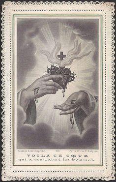 """antique prayer cards"""