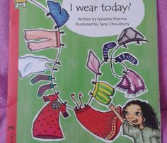 WHAT SHALL I WEAR TODAY by Natasha Sharma and Tanvi Choudhury by @prathambooks  #bookreview #IndianMomsConnect