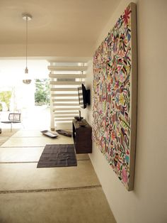 Otomi wall hanging courtesy of Ashe and Leandro
