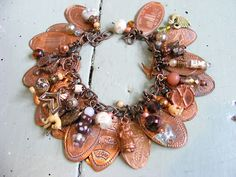 Souvenier penny bracelet  michellereneebernard.blogspot.com