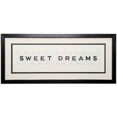 Vintage Playing Cards Sweet Dreams Framed Wall Art ($79) ❤ liked on Polyvore featuring home, home decor, wall art, words, article, letters, magazine, backgrounds, vintage home accessories and typography wall art