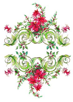 Contemporary vintage Christmas design by Victoria Nelson  http://www.victoria-nelson.com/