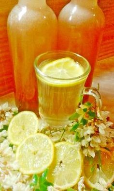 Yummy Drinks, Levek, No Bake Cake, Punch Bowls, Food And Drink, Canning, Recipes, Food Recipes, Rezepte