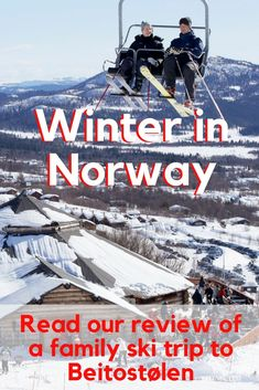 Visiting Norway in winter is like visiting a winter wonderland. It's the perfect place to enjoy a trip to the snow. Read our review of a family ski trip to Beitostolen with kids here.