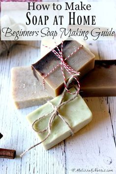Learn how to make soap at home plus a free chart on how to choose which oils to use in your soap recipes. #natural #DIY