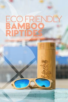 Shop the Beach Bum Lifestyle and check out our eco-friendly, bamboo, floating sunglasses.