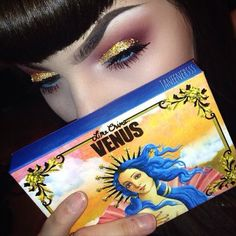 I HATE Lime Crime. But this girls make up doe.