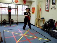 Wing Chun seven kicking form.
