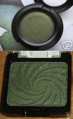 MAC Humid  Wet n Wild Envy- Love dupes... I have both of these products!!! Great dupe, although not exact. Beautiful and the drugstore version is $1.99