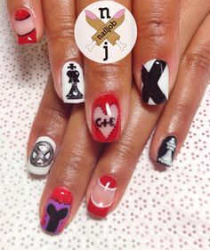 | nailjob: X-Men Days of Future Past Nails ...