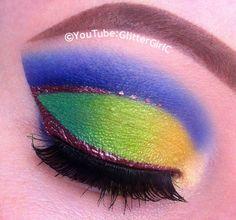 Princess Mulan makeup. YouTube channel: https://www.youtube.com/user/GlitterGirlC