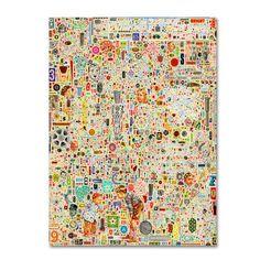 Trademark Fine Art 'Effloresce' Canvas Art by Colin Johnson, Multicolor