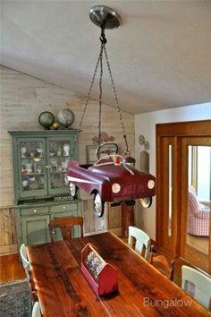 Repurposing Old Car Toys   Lamp from old toy car   Repurposed Beauties
