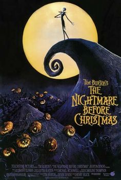 The Nightmare Before Christmas Movie Poster 24x36