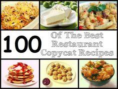 100 copycat recipes