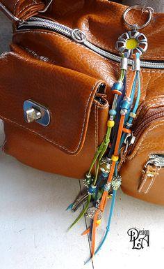 1# PORTE-CLÉ de charme, gri-gri, parure de sac à main. Decoration key chain
