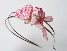 Pink pastel - vivi4n - Opaski na włosy